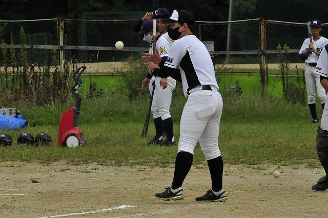 定通軟式野球交流試合_f0087620_10325062.jpg