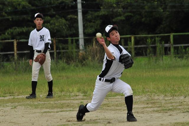 定通軟式野球交流試合_f0087620_10370696.jpg
