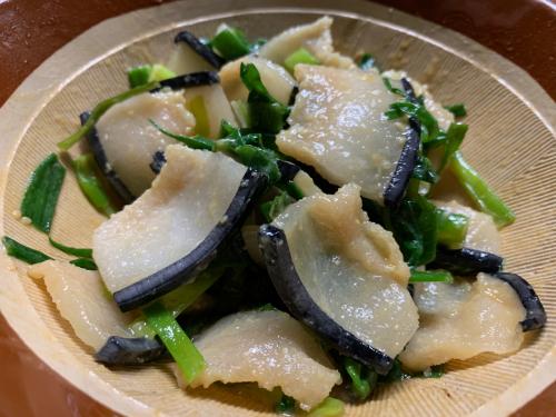 萩シーマートで購入した鯨肉と栄螺と東洋の女神_d0025421_08233130.jpg