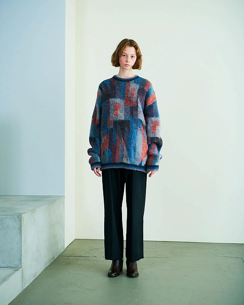 YOKE 2020 AUTUMN WINTER COLLECTION PAUL KLEE look 2nd_e0171446_1447147.jpg
