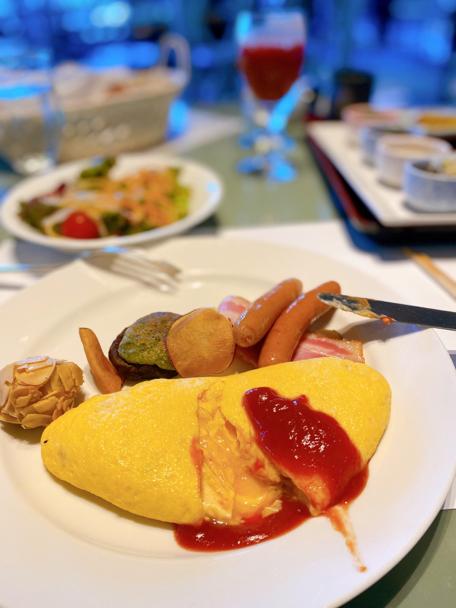ホテルニューオータニ大阪「SATSUKI」の朝ごはん_f0054556_09221330.jpg