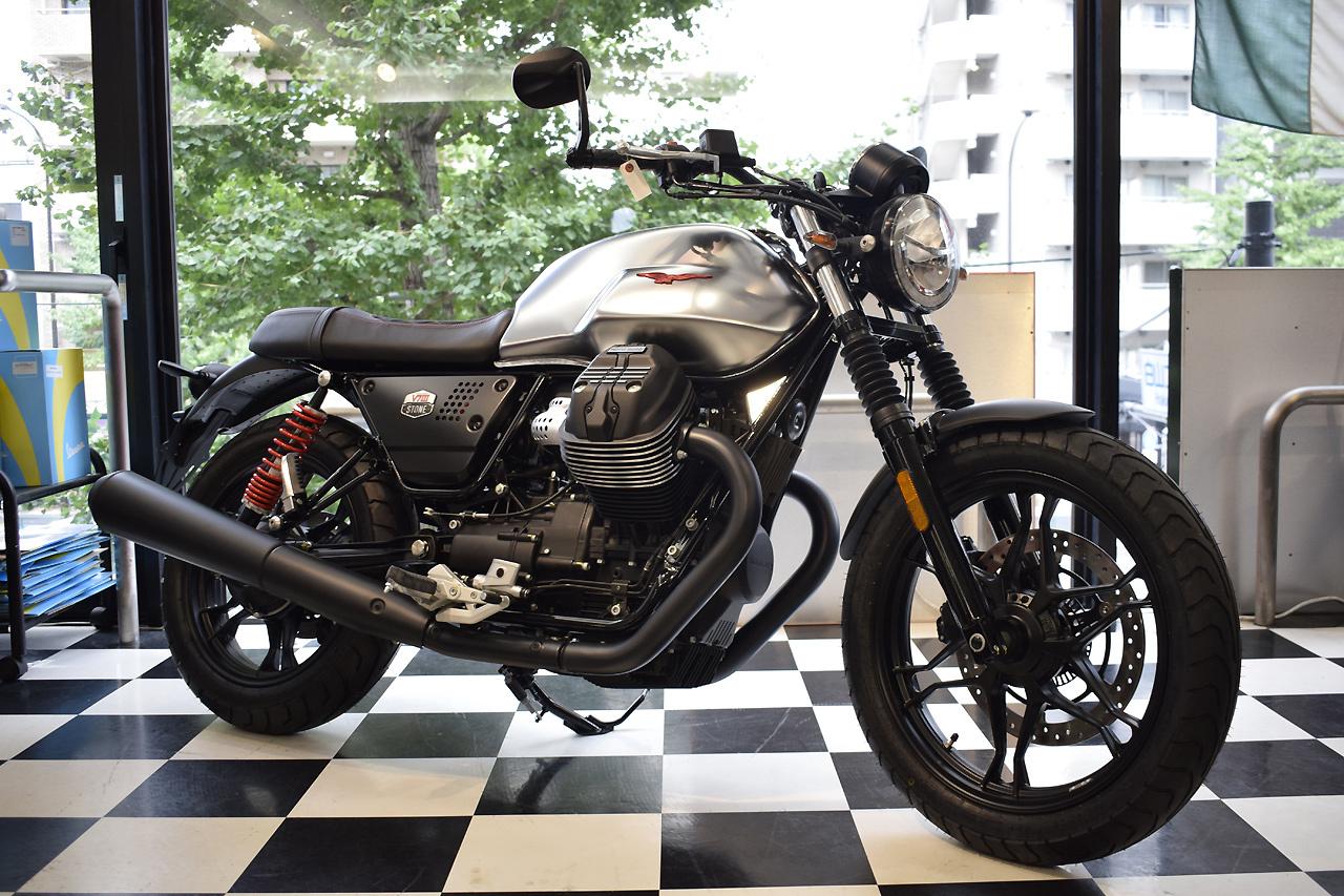 MOTO GUZZI V7Ⅲ STONE S 世界750台限定モデル入荷!_d0099181_19034121.jpg