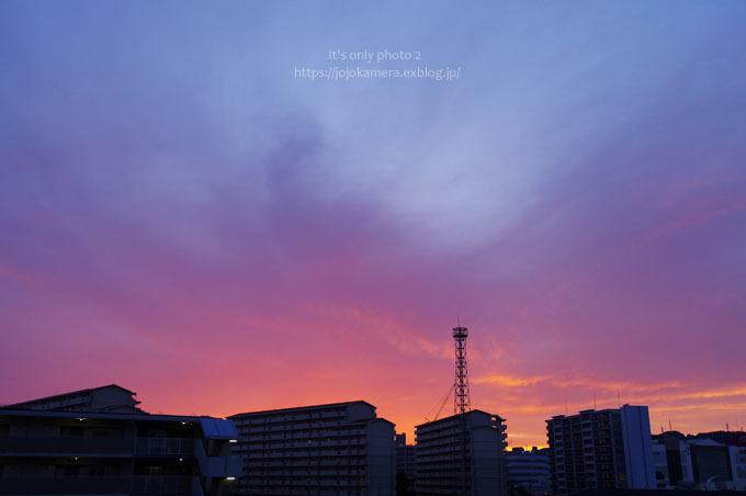 21日の夕焼け_b0391986_01153591.jpg