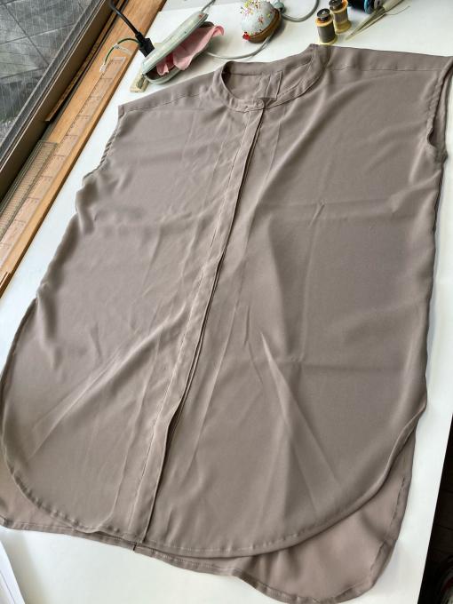 サマーバンドカラーシャツ 後はボタン_f0149924_14404224.jpg