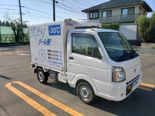 -30℃仕様の冷凍車を新規導入しました。_f0246424_10354953.jpg