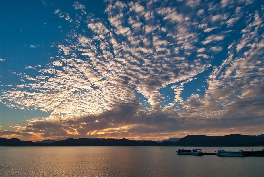 みちのく田沢湖の夕景_d0067934_10151155.jpg