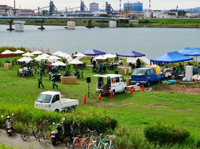 夕暮れの シエキノカワでピクニック  2020-09-26 00:00_b0093754_20311722.jpg