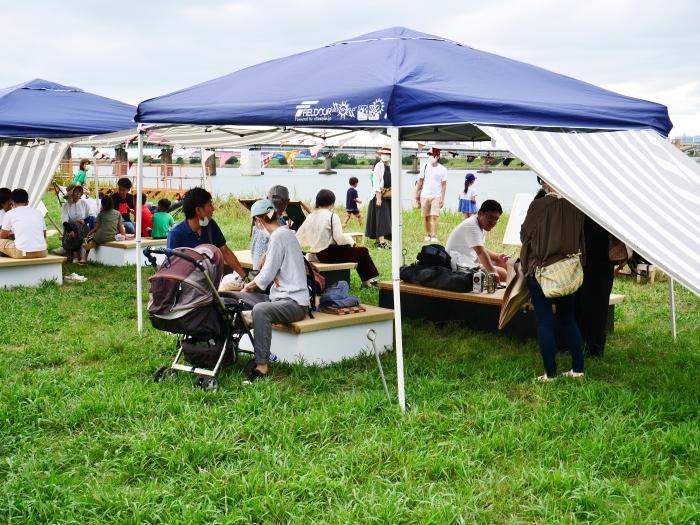 夕暮れの シエキノカワでピクニック  2020-09-26 00:00_b0093754_20344648.jpg