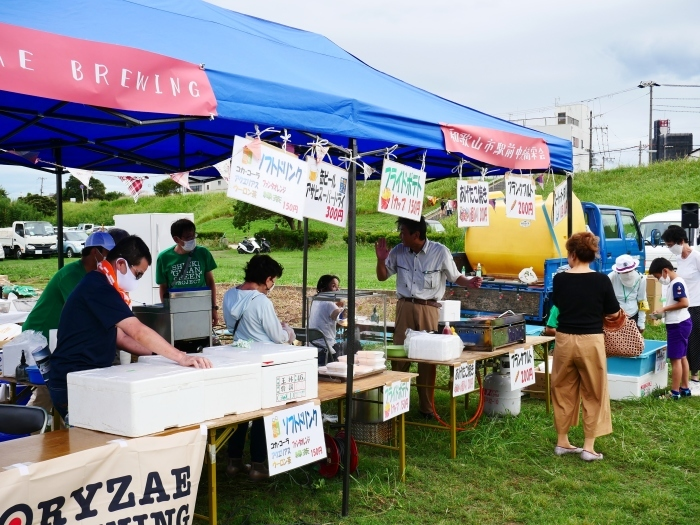 夕暮れの シエキノカワでピクニック  2020-09-26 00:00_b0093754_20350260.jpg