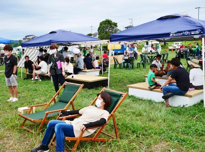 夕暮れの シエキノカワでピクニック  2020-09-26 00:00_b0093754_20352011.jpg