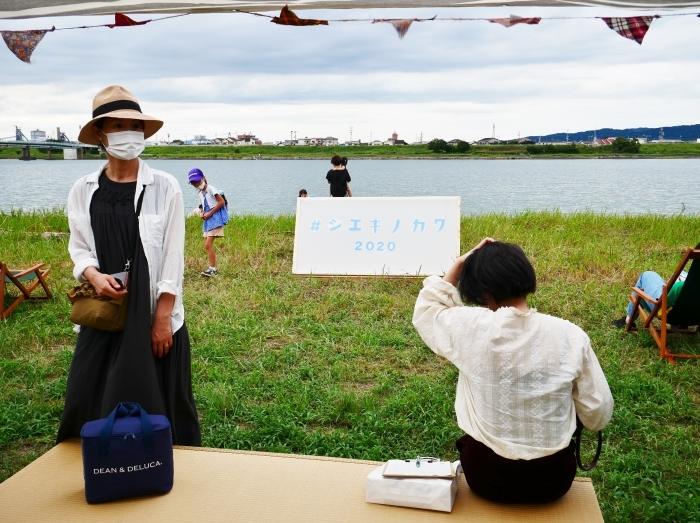 夕暮れの シエキノカワでピクニック  2020-09-26 00:00_b0093754_20353065.jpg