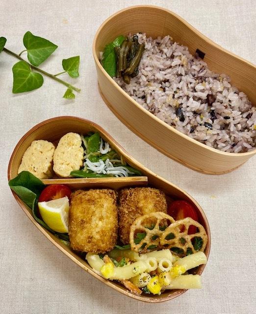 lunch box ×4 曜日の感覚_a0165160_16333592.jpg