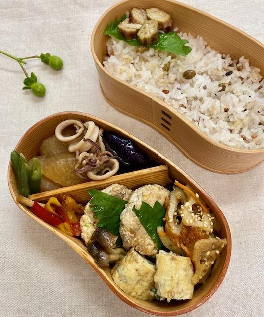lunch box ×4 曜日の感覚_a0165160_16382271.jpg