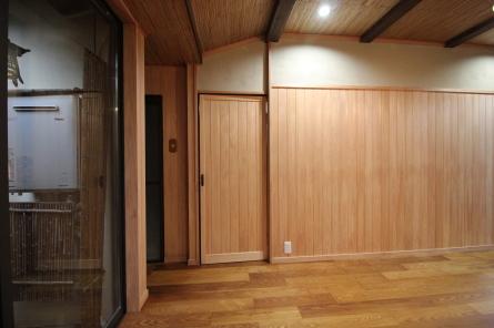 「和テイスト」の談話室が完成しました。_e0140472_10225249.jpg
