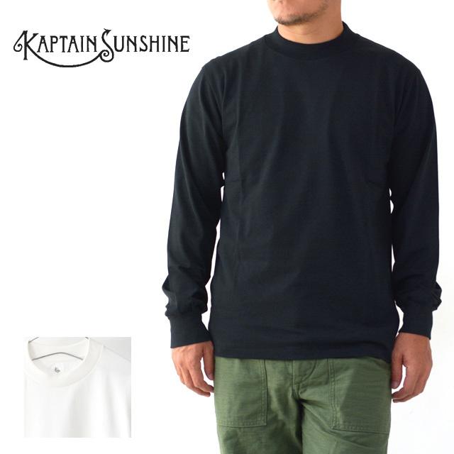 KAPTAIN SUNSHINE [キャプテンサンシャイン] Suvin Supima Crewneck Tube L/S Tee [KS20FCS12] ロングスリーブTEE・ MEN\'S _f0051306_16345471.jpg