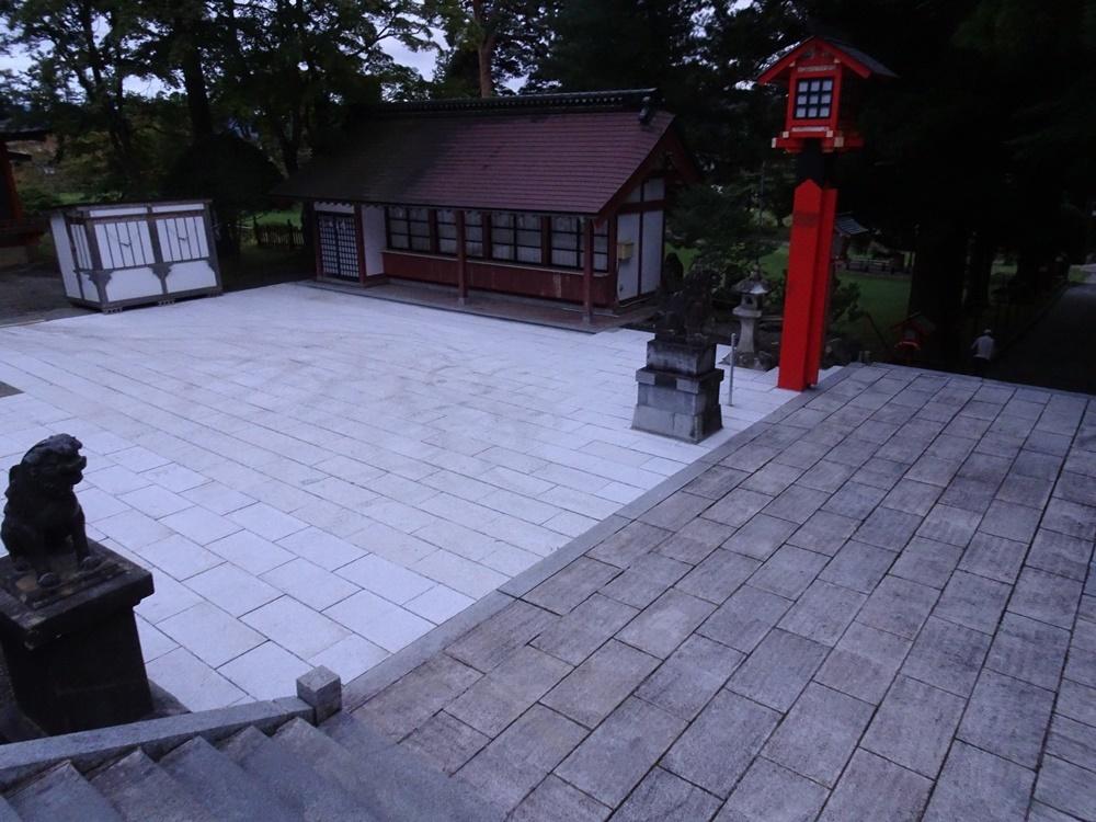 石畳敷き作業_c0111229_19331060.jpg