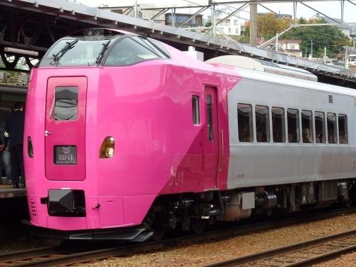 キハ261系5000番台「はまなす色」一般公開_a0275468_22135212.jpg