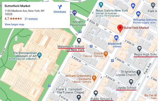 1915年創業のNYの老舗スーパー、バターフィールド・マーケット(Butterfield Market)がコロナ禍に2号店オープン_b0007805_08182500.jpg