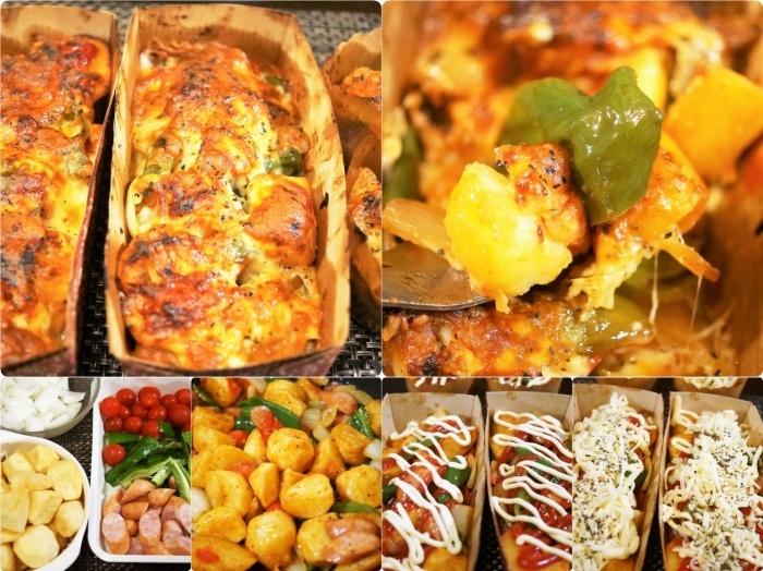 ■副菜【野菜とウインナーのオーブン焼き】マヨ・ケチャ・チーズでジューシー!!_b0033423_00245511.jpg