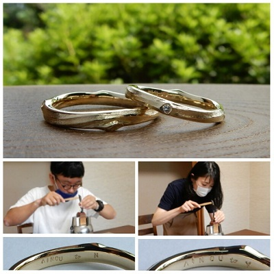 結婚指輪 | 岡山_d0237570_10581066.jpg