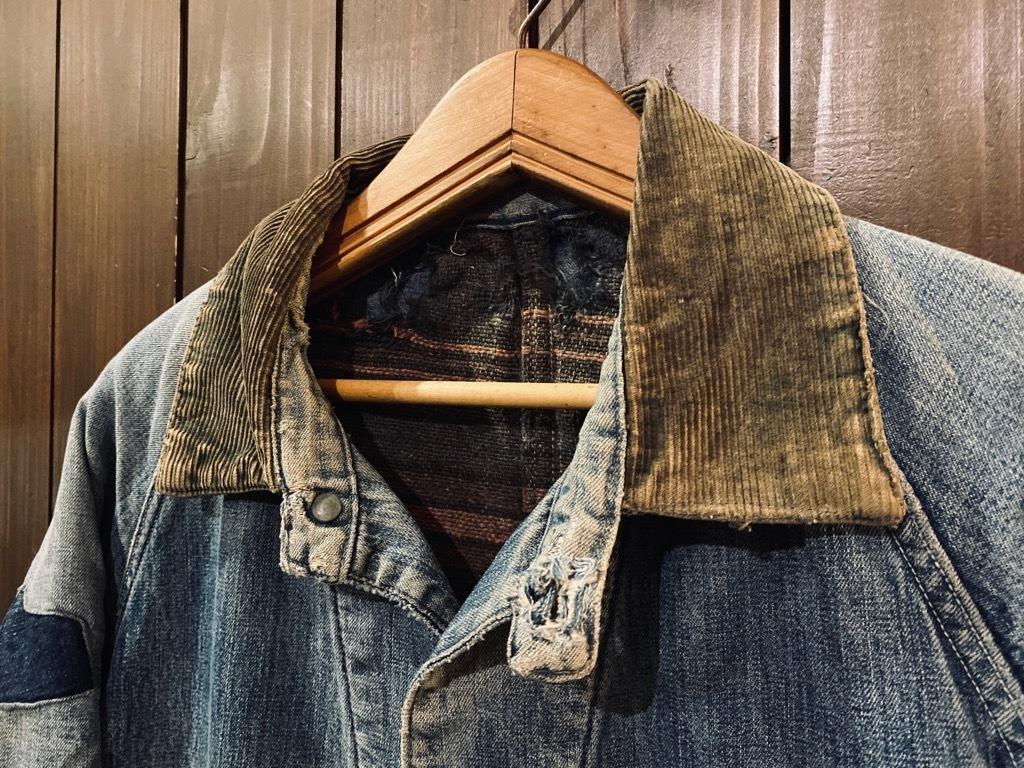マグネッツ神戸店9/30(水)冬Vintage入荷! #1 Denim Work Jacket!!!_c0078587_17001462.jpg