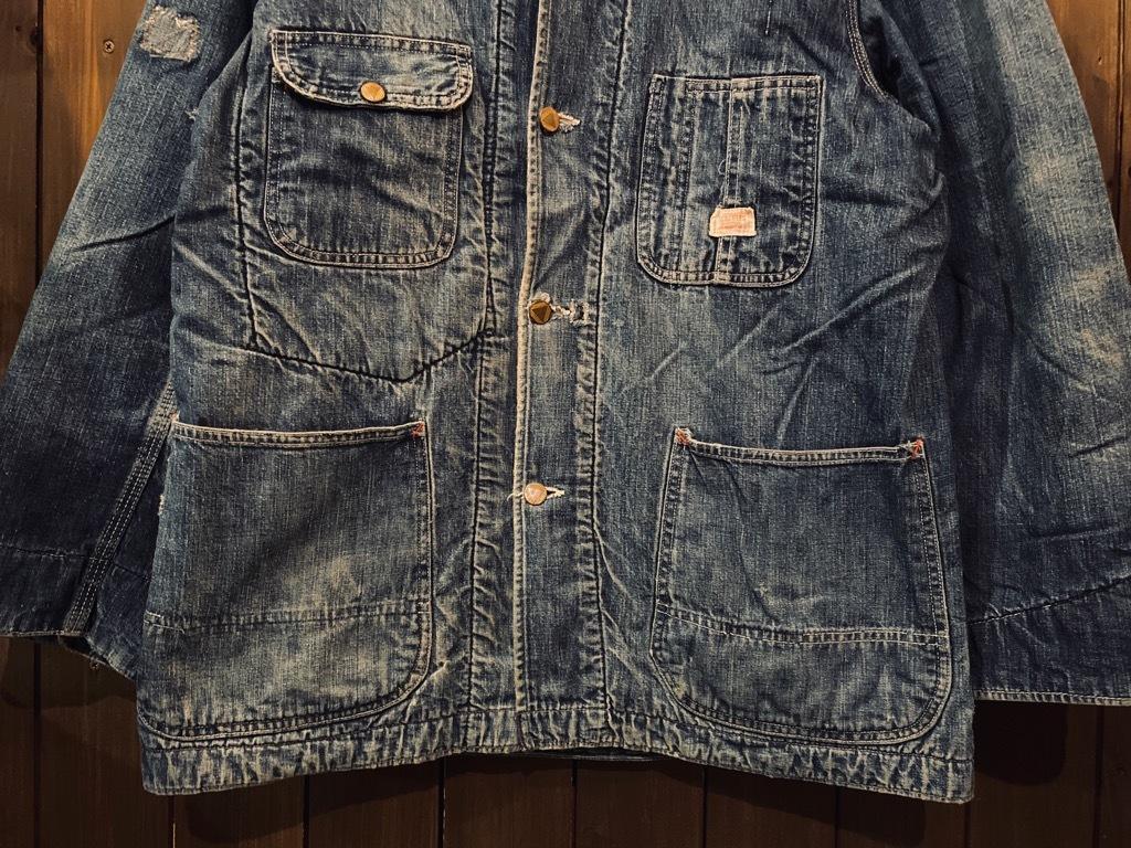 マグネッツ神戸店9/30(水)冬Vintage入荷! #1 Denim Work Jacket!!!_c0078587_17042820.jpg