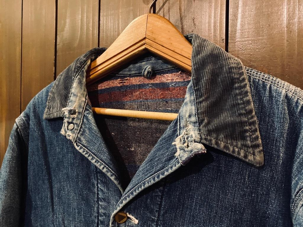 マグネッツ神戸店9/30(水)冬Vintage入荷! #1 Denim Work Jacket!!!_c0078587_17042886.jpg