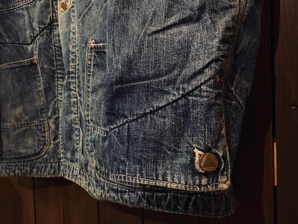 マグネッツ神戸店9/30(水)冬Vintage入荷! #1 Denim Work Jacket!!!_c0078587_17042897.jpg