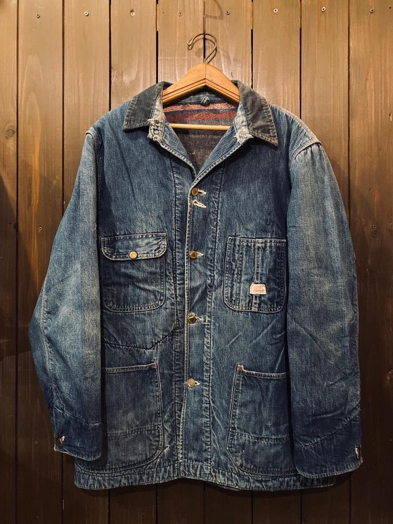 マグネッツ神戸店9/30(水)冬Vintage入荷! #1 Denim Work Jacket!!!_c0078587_17042961.jpg