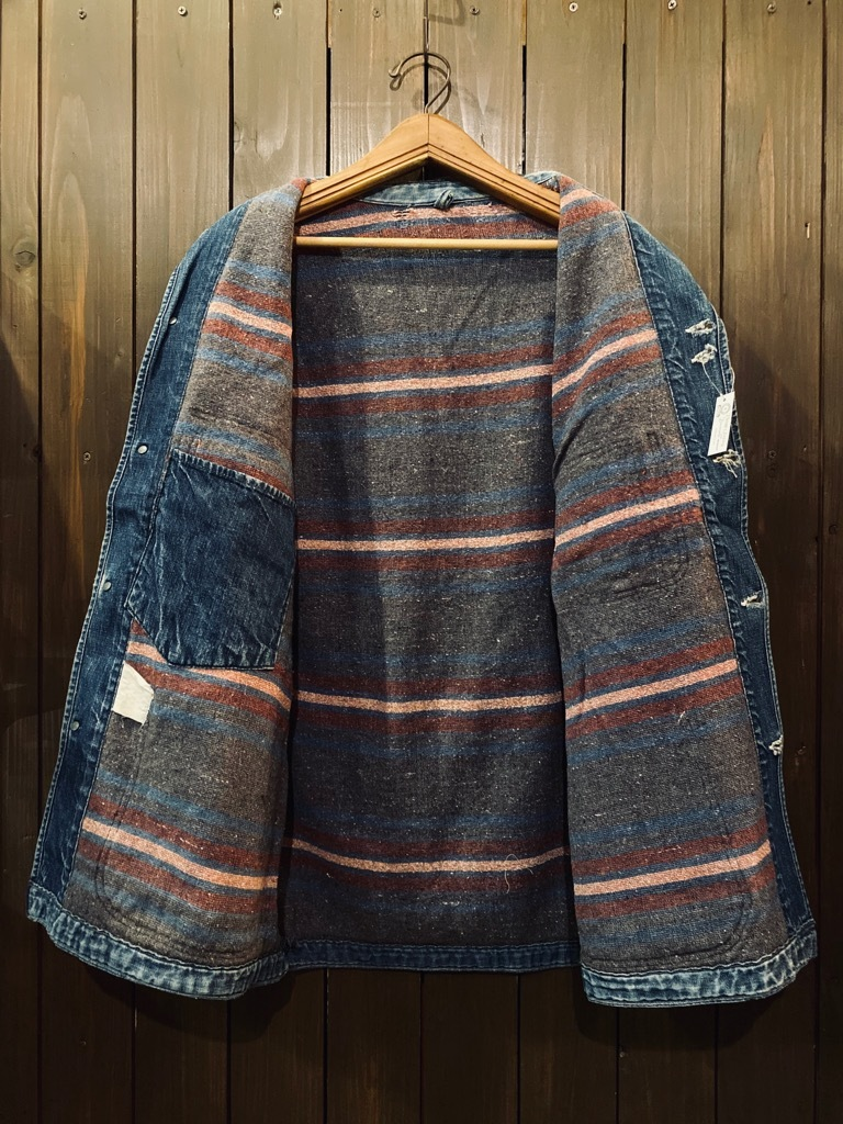 マグネッツ神戸店9/30(水)冬Vintage入荷! #1 Denim Work Jacket!!!_c0078587_17042983.jpg