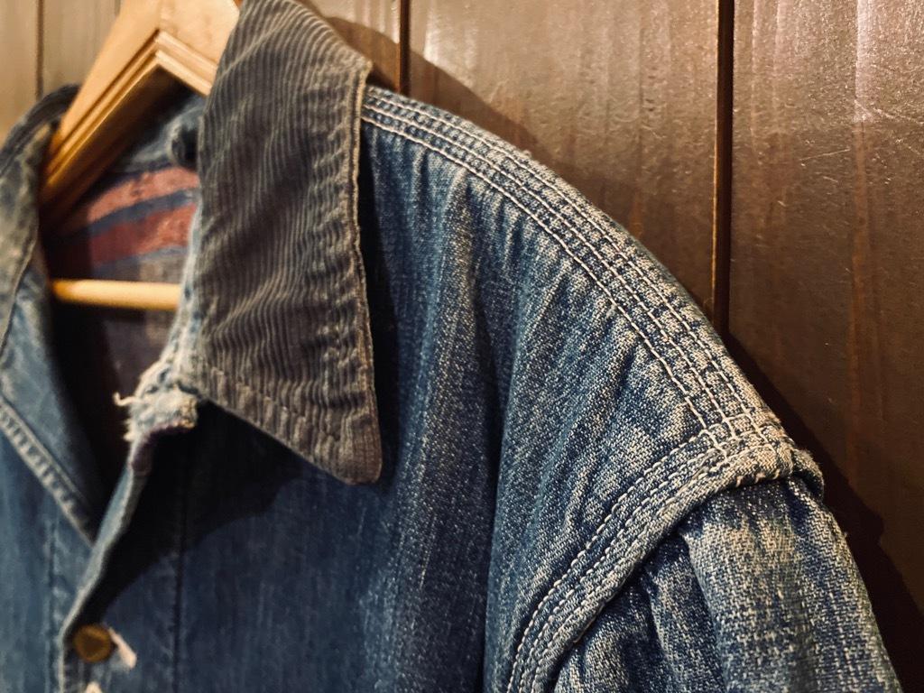 マグネッツ神戸店9/30(水)冬Vintage入荷! #1 Denim Work Jacket!!!_c0078587_17042992.jpg