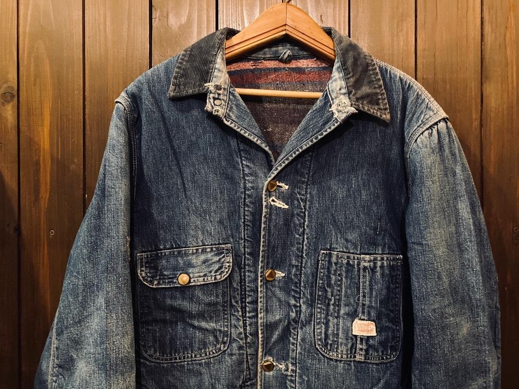マグネッツ神戸店9/30(水)冬Vintage入荷! #1 Denim Work Jacket!!!_c0078587_17043018.jpg
