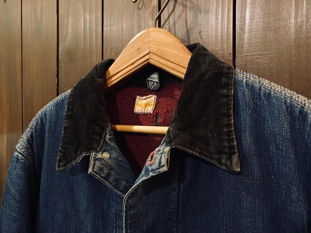 マグネッツ神戸店9/30(水)冬Vintage入荷! #1 Denim Work Jacket!!!_c0078587_17054334.jpg