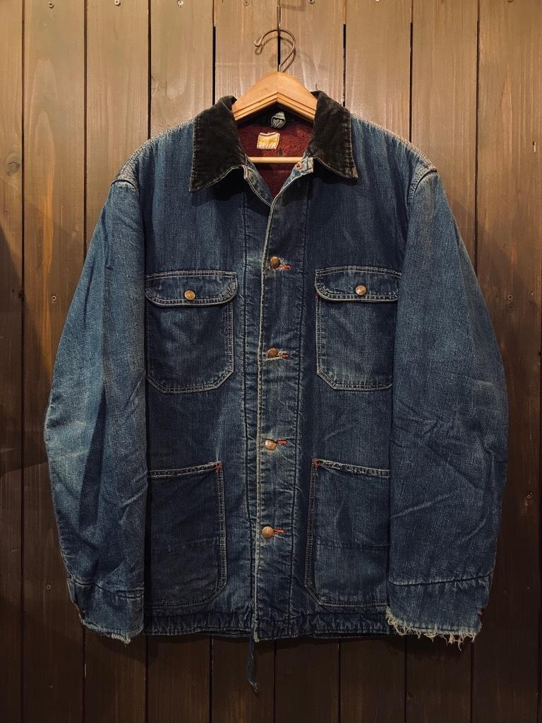 マグネッツ神戸店9/30(水)冬Vintage入荷! #1 Denim Work Jacket!!!_c0078587_17054389.jpg