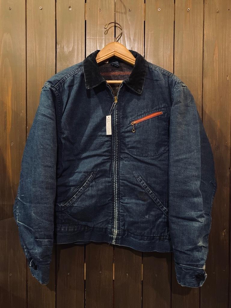 マグネッツ神戸店9/30(水)冬Vintage入荷! #1 Denim Work Jacket!!!_c0078587_17091141.jpg