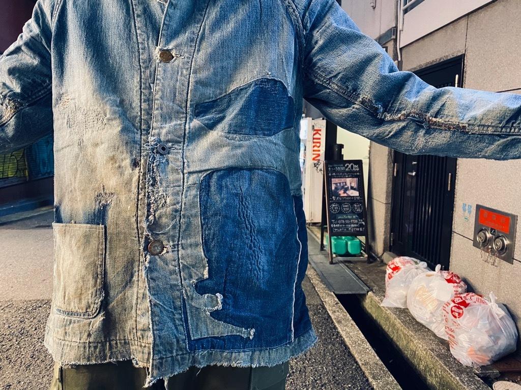 マグネッツ神戸店9/30(水)冬Vintage入荷! #1 Denim Work Jacket!!!_c0078587_19381137.jpg