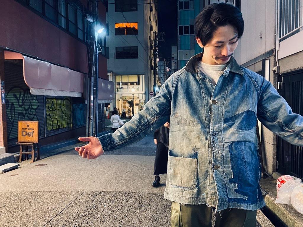 マグネッツ神戸店9/30(水)冬Vintage入荷! #1 Denim Work Jacket!!!_c0078587_19381142.jpg
