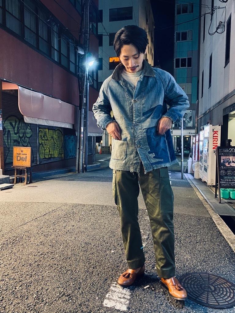 マグネッツ神戸店9/30(水)冬Vintage入荷! #1 Denim Work Jacket!!!_c0078587_19381241.jpg