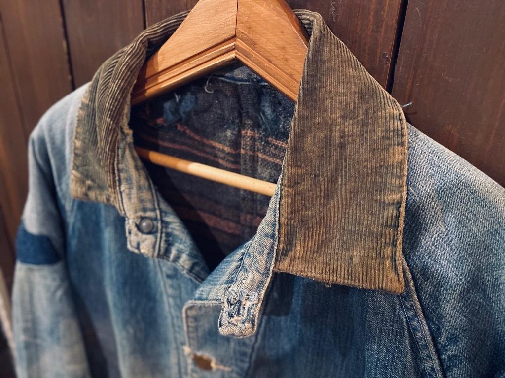 マグネッツ神戸店9/30(水)冬Vintage入荷! #1 Denim Work Jacket!!!_c0078587_19390485.jpg