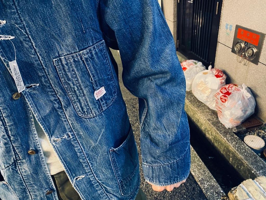 マグネッツ神戸店9/30(水)冬Vintage入荷! #1 Denim Work Jacket!!!_c0078587_19403811.jpg