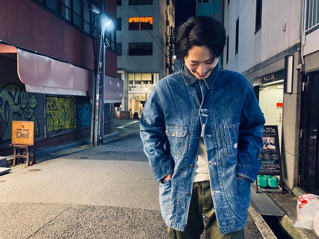 マグネッツ神戸店9/30(水)冬Vintage入荷! #1 Denim Work Jacket!!!_c0078587_19403846.jpg