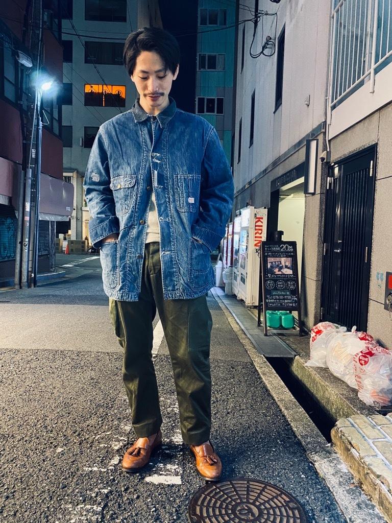 マグネッツ神戸店9/30(水)冬Vintage入荷! #1 Denim Work Jacket!!!_c0078587_19403870.jpg