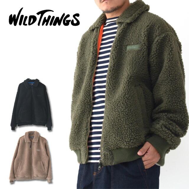 WILD THINGS [ワイルドシングス] FLUFFY BOA G-1[WT21124N] フラッフィー ボア G-1・ボアジャケット・MEN\'S _f0051306_17553000.jpg