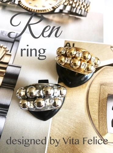 新作★Ren ring 銅玉シリーズが止まらない💦_b0310144_17012548.jpg