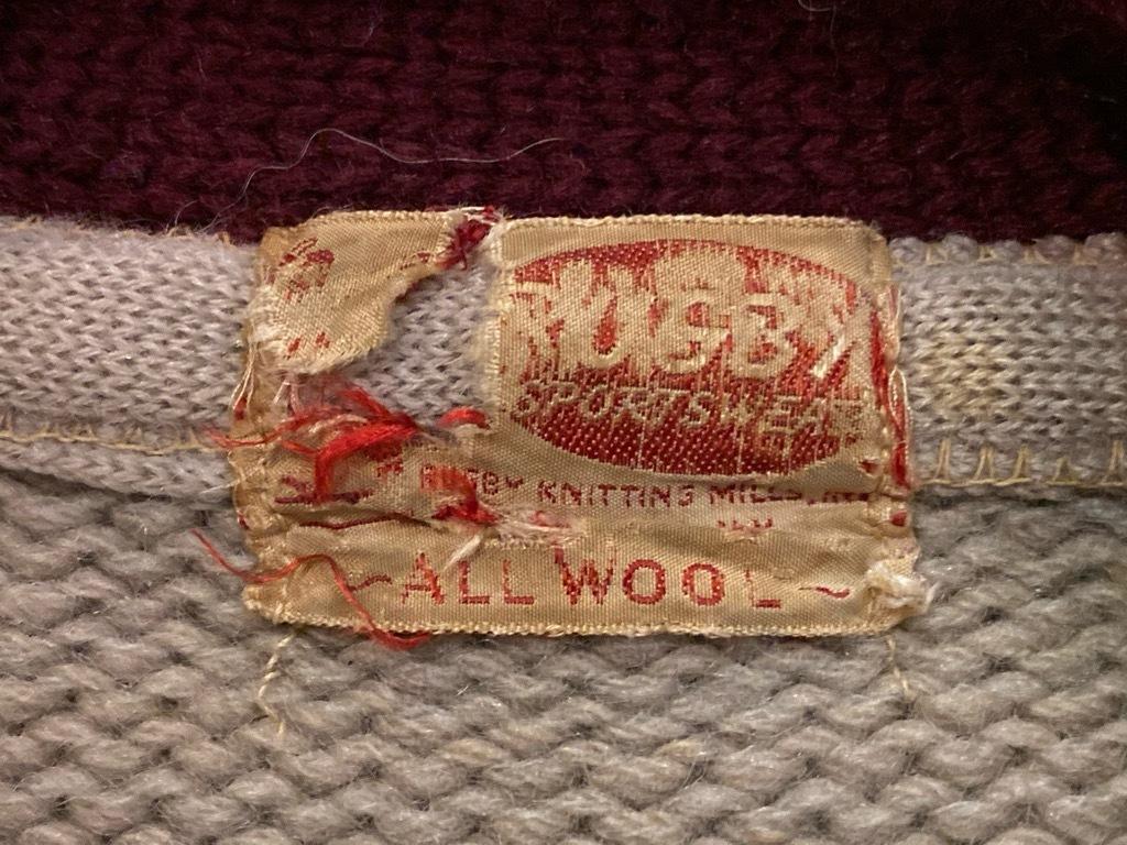 マグネッツ神戸店9/30(水)冬Vintage入荷! #4 Letterman Cardigan!!!_c0078587_13422756.jpg