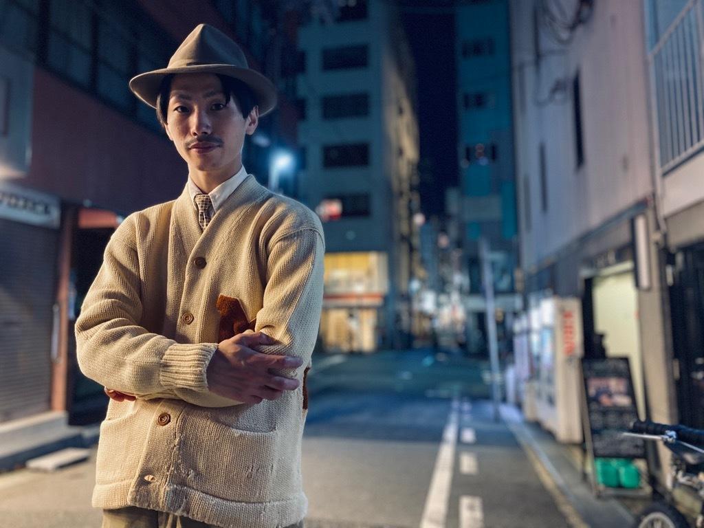 マグネッツ神戸店9/30(水)冬Vintage入荷! #4 Letterman Cardigan!!!_c0078587_20203482.jpg
