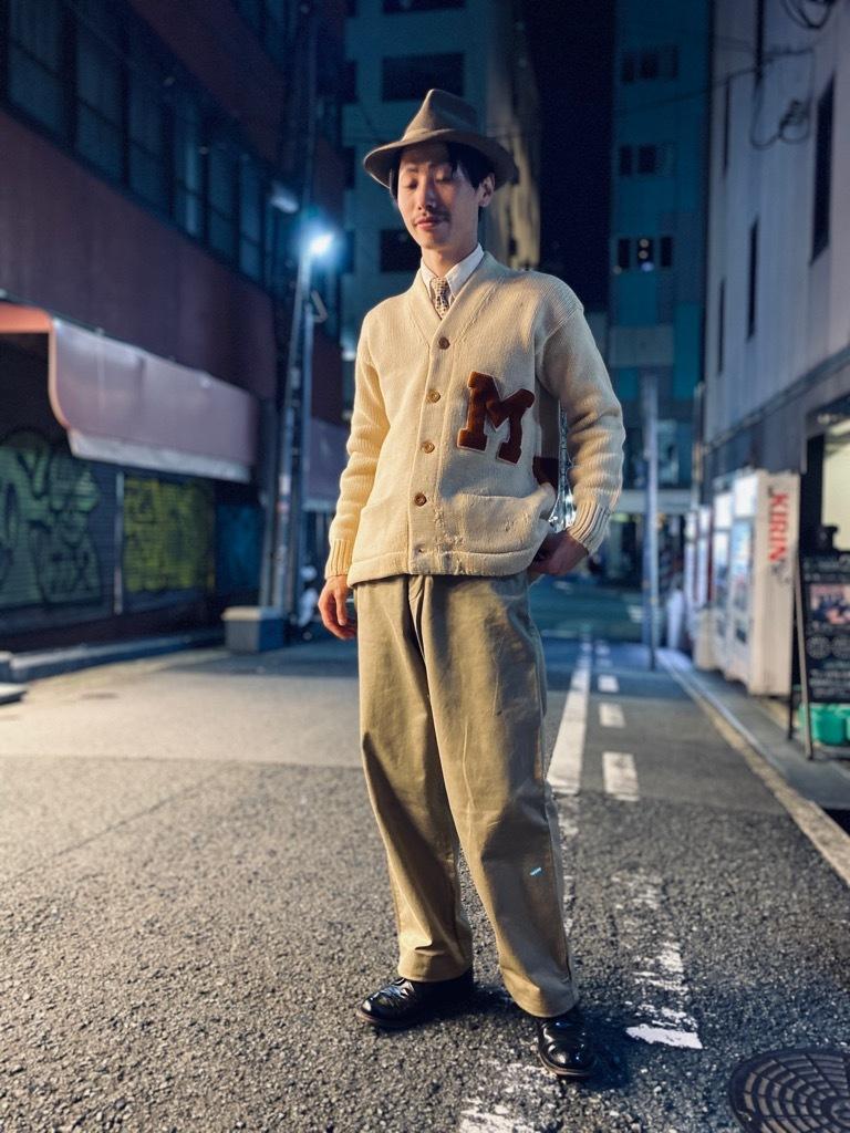 マグネッツ神戸店9/30(水)冬Vintage入荷! #4 Letterman Cardigan!!!_c0078587_20214553.jpg