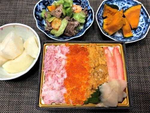 テレビで観た海鮮丼_a0346704_21411468.jpg