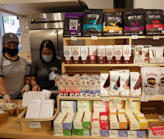 コロナ感染予防対策で『食の博物館』状態のNYの老舗スーパー、バターフィールド・マーケット_b0007805_02241754.jpg