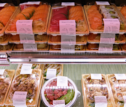NYの老舗スーパー、バターフィールド・マーケットに初登場、自家製お寿司とピザのコーナー_b0007805_04500721.jpg